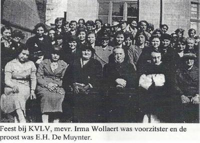Feest bij KVLV Zevergem