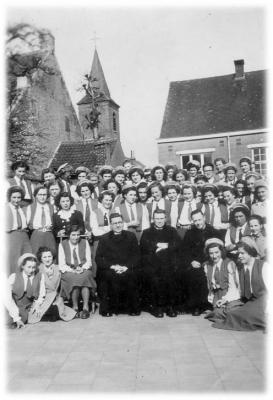 Groepsfoto van KVLV-dames.