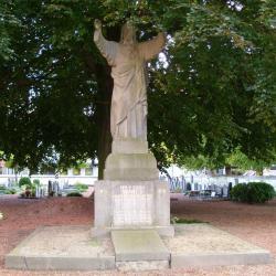 Heilig Hartbeeld met vrijheidsboom