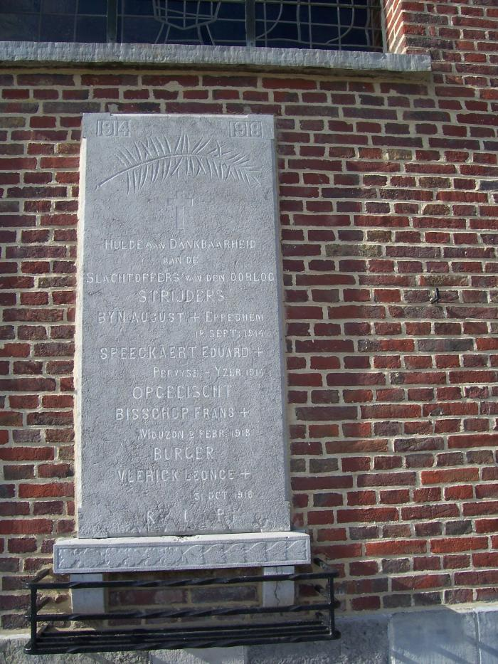 Oorlogsgedenkteken Sint-Martens-Leerne
