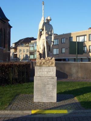 Oorlogsgedenkteken Zulte