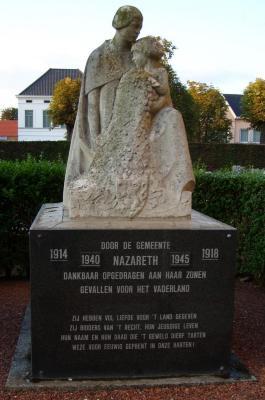 Oorlogsgedenkteken Nazareth