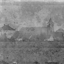 Oude dorpskom van Eke