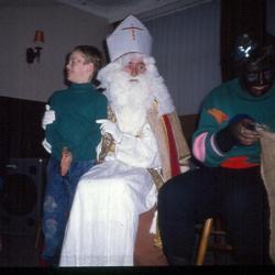 Sinterklaas op bezoek bij KSA-VKSJ Nazareth