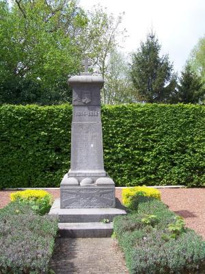 Oorlogsmonument  Asper (begraafplaats)