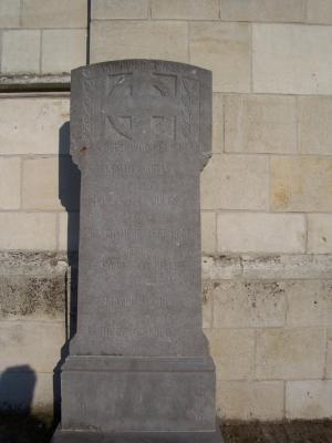 Oorlogsmonument Vurste (kerk)