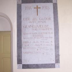 Militaire graven op het kerkhof van Nazareth