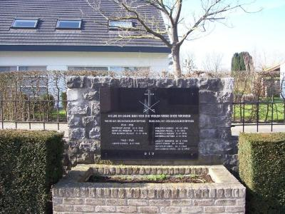 Oorlogsgedenkteken Bachte Kerk