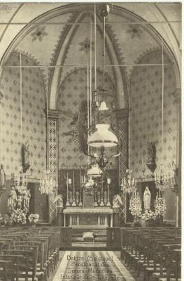 Interieur Sint-Blasiuskapel (kapel van de Zusters Maricolen)