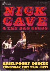 Nick Cave & The Bad Seeds in de Brielpoort