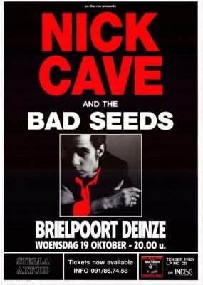 Nick Cave in de Brielpoort