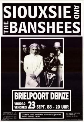 Siouxie and the Banshees in de Brielpoort.