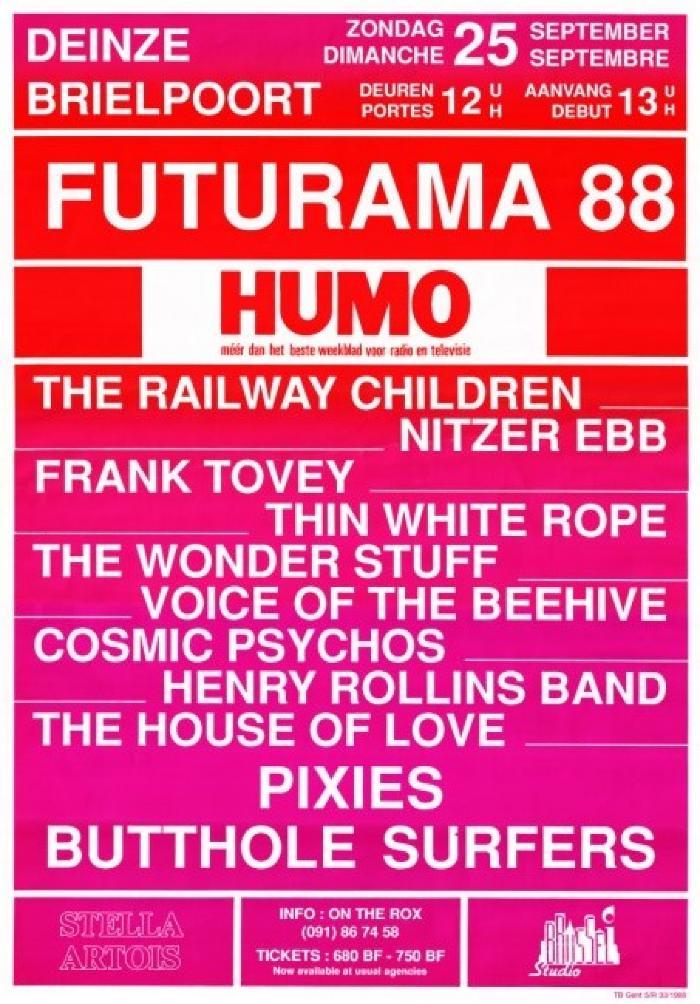 Futurama 6 in de Brielpoort
