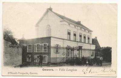 Gavere. - Villa Langlois 1905
