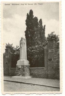 Monument Slag bij Gavere (Fr.Tinel)