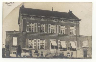 Gavere Villa Eggermont - Langlois - des Hirondelles ... Achterkant 1908