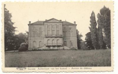Achterkant van het kasteel / Grenier Arrière du château