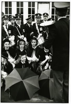 Koninklijke Katholieke Fanfare Sint-Cecilia tijdens het Ceciliafeest