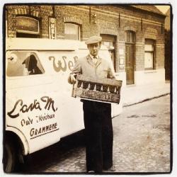 Marcel Lava op bierronde in Grammene