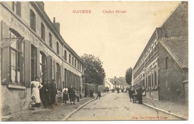 Gavere Onder Straat (sic) Onderstraat