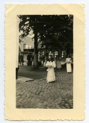 Processie in Bachte-Maria-Leerne