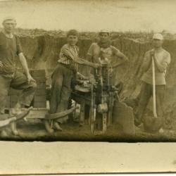 Steenbakkersfamilie uit Asper