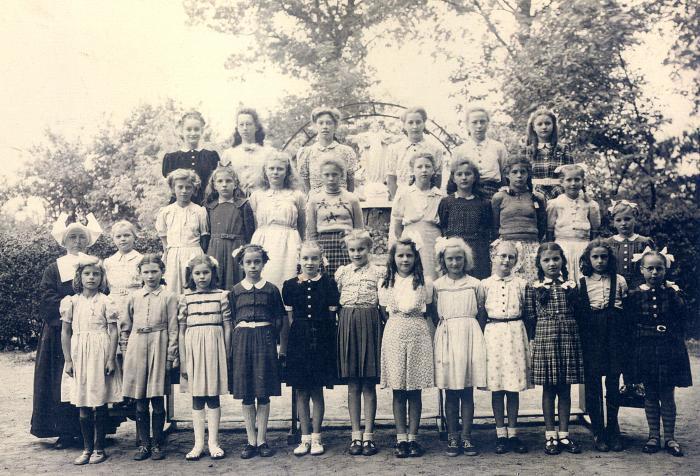 Schoolfoto St-Jozefsschool Deurle