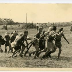 De Deinse scouts op kamp in Anor