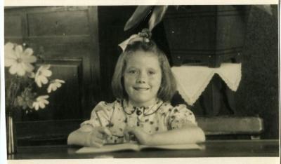 Schoolfoto Blanche Van Heule.
