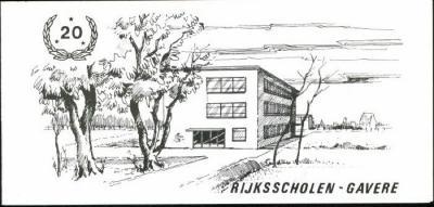 Galabal n.a.v. het 20-jarig bestaan van de Rijksmiddenschool van Gavere