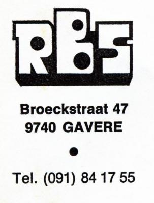 Het logo van de R.M.S. van Gavere