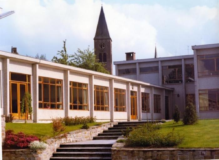 De gebouwen van Technisch Instituut Onze-Lieve-Vrouw