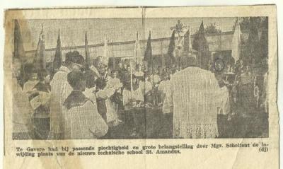 Opening T.I.S.A. in de krant