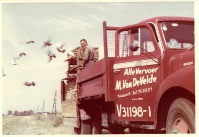 Transportbedrijf Van de Velde: voor al uw duivenvervoer