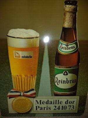 Het bier Reinbraü van brouwerij Anglo-Belge