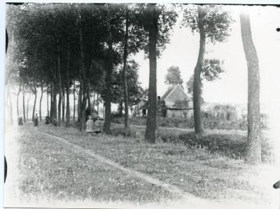 Landweg vlakbij het Eeks 'Nieuw Kasteel'