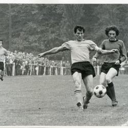 Duel tussen SK Deinze en Sparta Petegem.
