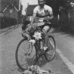 Wielrenner en fietsenmaker Antoon Dierickx