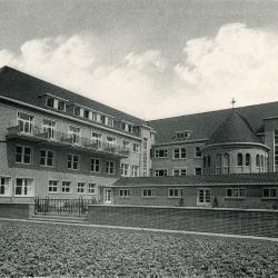Het oude Sint-Vincentiusziekenhuis van Deinze