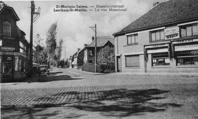 De Karel Lodewijk Maenhoutstraat te Sint-Martens-Latem