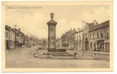 Marktplaats en fontein - Gavere