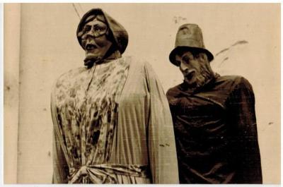 De Zultse reuzen Franso en Adèle