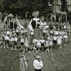 Het reuzenspel, De Pinte, 1958