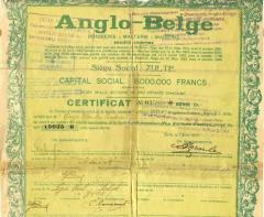 Aandeel Anglo-Belge