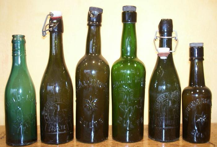 Flessen van de Anglo-Belge in de jaren 1920
