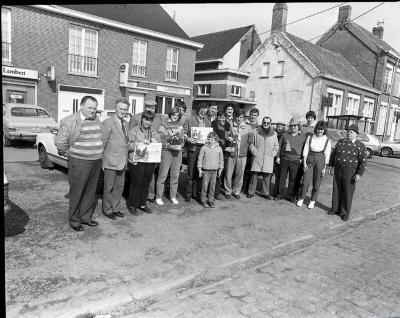Het Oost-Vlaams kampioenschap hanenzetten anno 1985