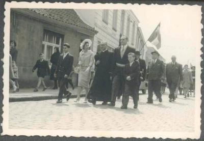 Inhuldiging Burgemeester Dr Carlos Dierickx 1959