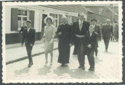 Inhuldiging Burgemeester Carlos Dierickx 1959