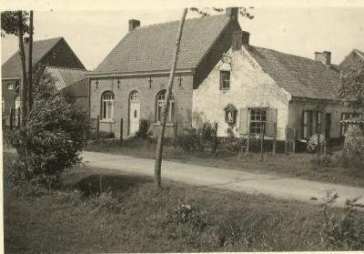 Het kapelletje aan het huis van schrijnwerker Reynvoet