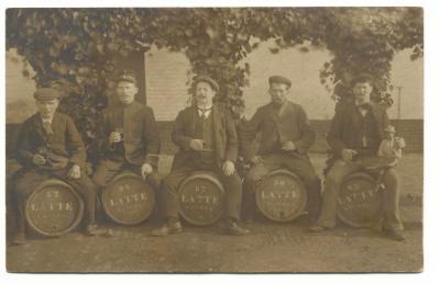 mensen brouwerij Latte 1911